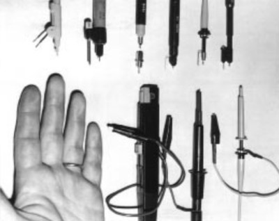 A selection of probes, from [Jim Williams'] Linear Technology app note 72.