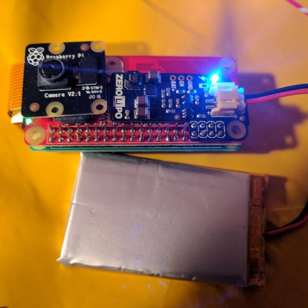 Turn That Pi Zero Into A Streaming Camera, Step-by-Step | Hackaday