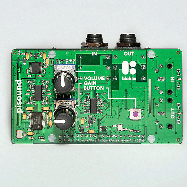 PiSound, The Audio Card For The Raspberry Pi | Hackaday