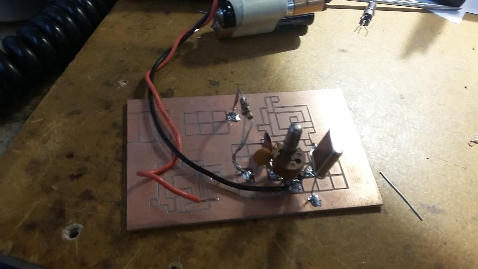 vintage transistor powers qrp transmitter hackaday