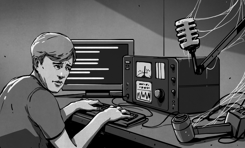 shut up and say something amateur radio digital modes hackaday