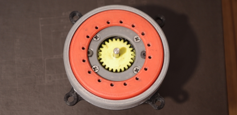 Unique Planetary Gearbox Can Be Custom Printed For Steppers