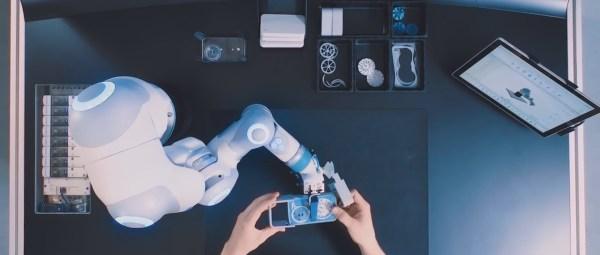 BionicCobot and human working together