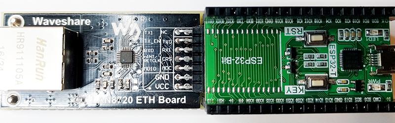 Enabling Ethernet On The ESP32 | Hackaday