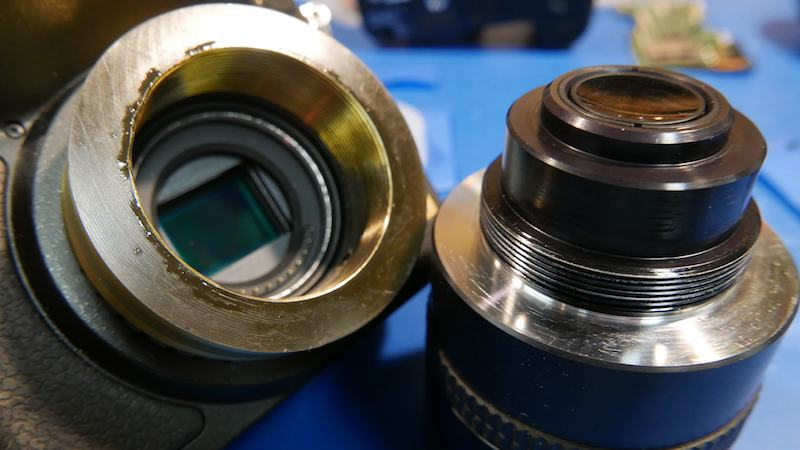 X-Ray Imaging Camera Lens Persuaded To Join Micro Four Thirds Camera