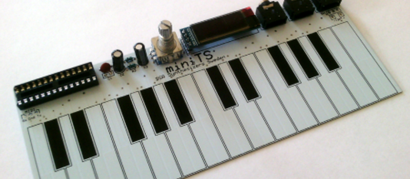 DIY Tiny Single-PCB Synthesizer | Hackaday
