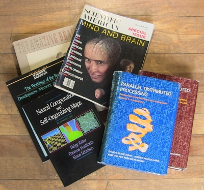 Neural network 80s/90s books and mags