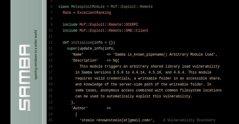 Linux SambaCry   Hackaday