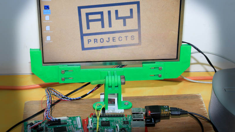 How To Build Your Own Google AIY Without The Kit | Hackaday