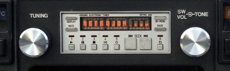 A Retro Car Stereo With Arduino Inside | Hackaday