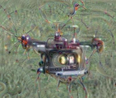 Deep dream hexacopter