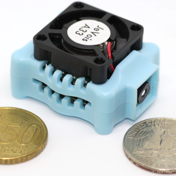 JeVois Machine Vision Camera Nails Demo Mode | Hackaday