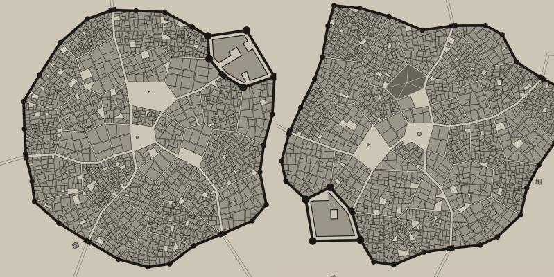 Procedurally Generating Random Medieval Cities | Hackaday