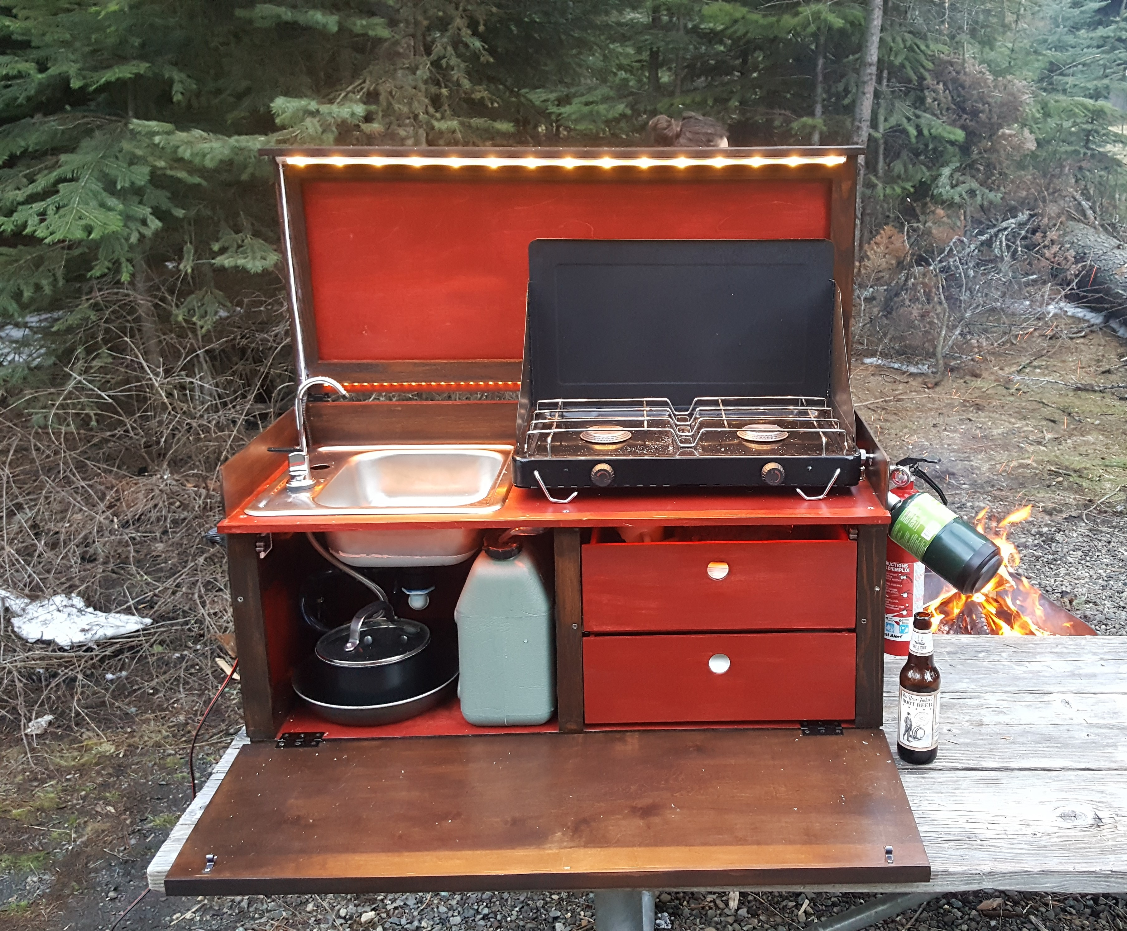 Camp Kitchen Kit For Food On The Go Hackaday