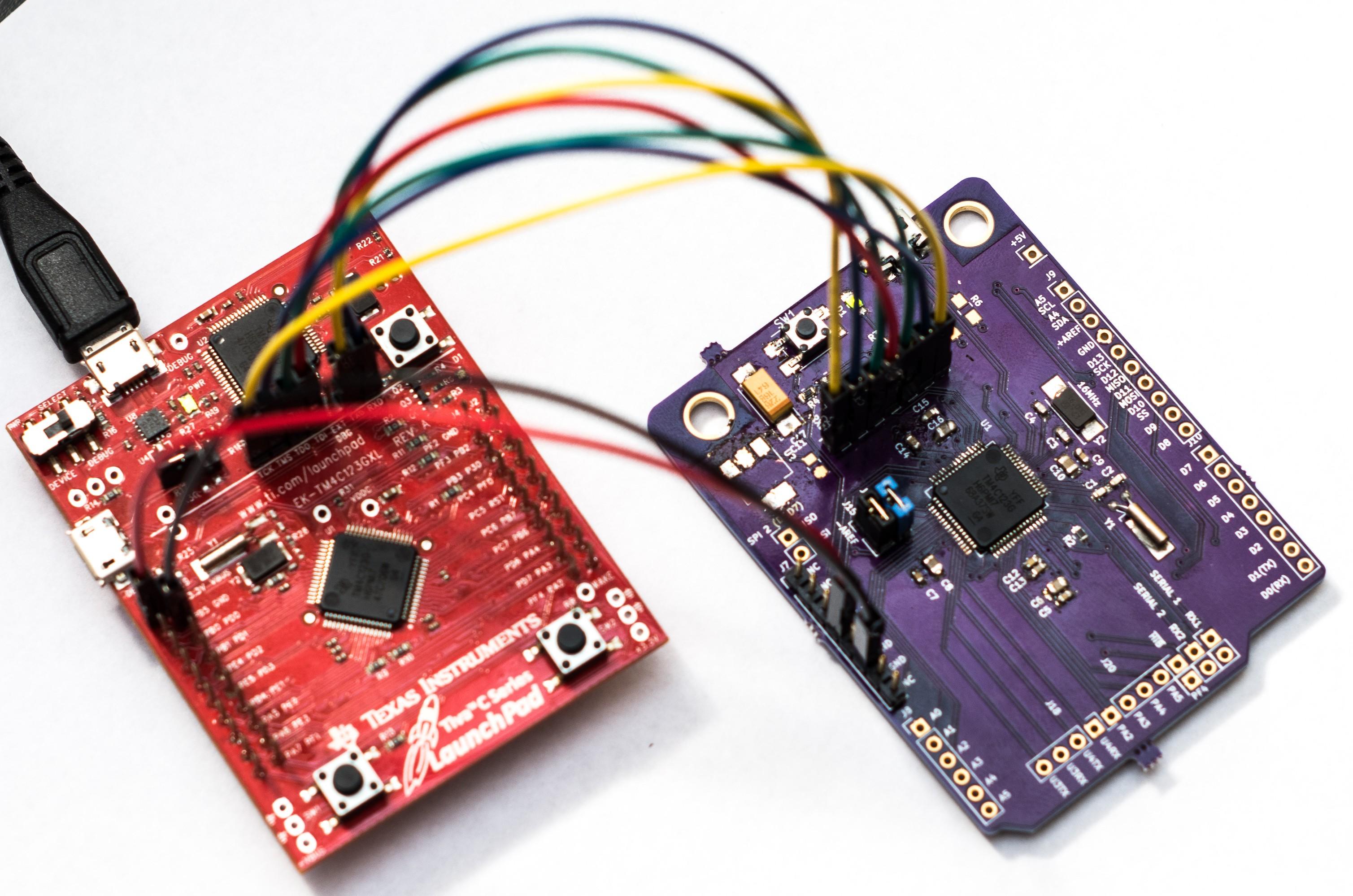 Hackaday Prize Entry: A Tiva Shaped Like An Arduino   Hackaday