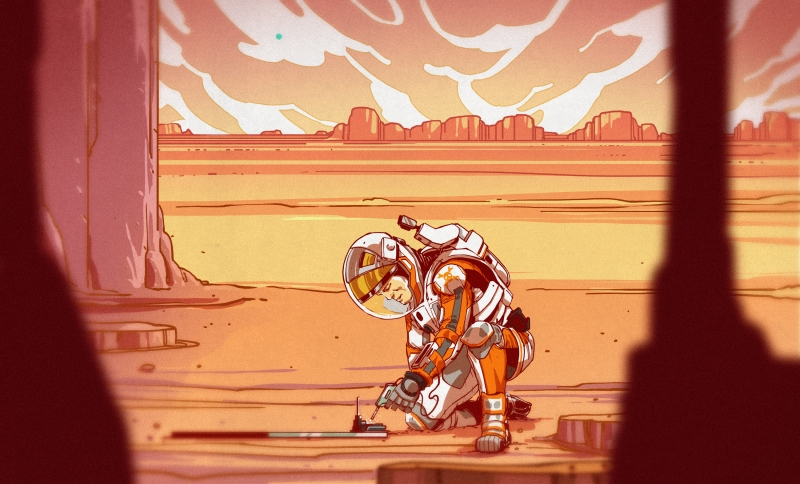 "Hacking On Mars In ""The Martian"" 