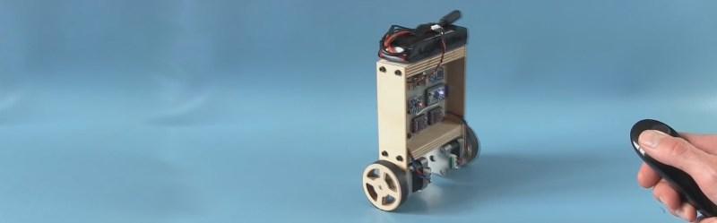 Building A Self-Balancing Robot Made Easy   Hackaday