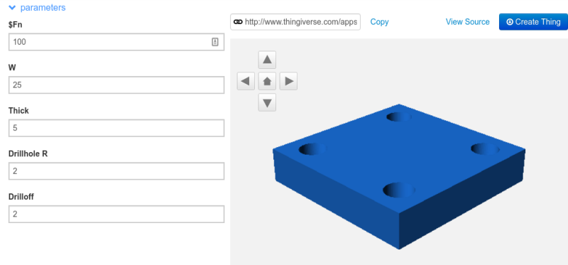 A Crash Course In Thingiverse Customizer | Hackaday