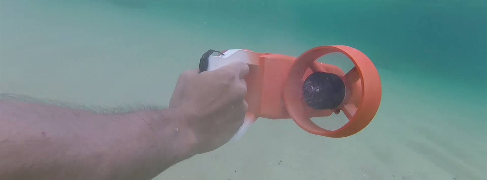 The Almost Working, DIY Underwater Scooter Pistol Thing