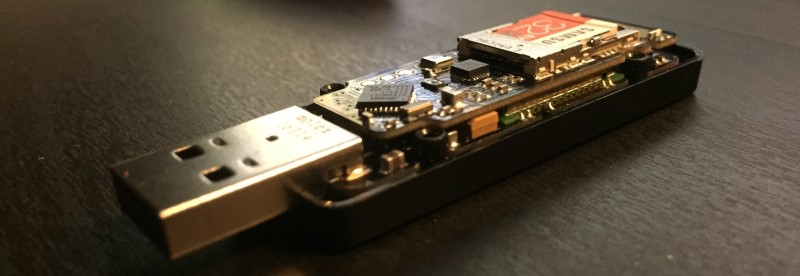 Hackaday Prize Entry: USB GSM GPS 9DOF SD TinyTracker Has