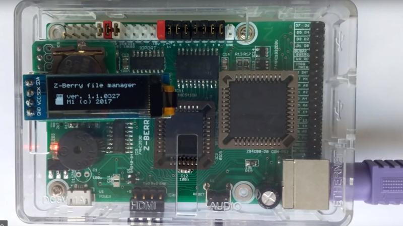Z80 Based Raspberry Pi Look-alike | Hackaday