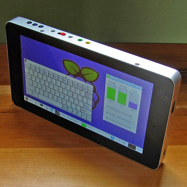 Huge Functionality, Small Package: A Custom Tablet