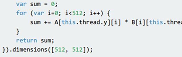 Using The GPU From JavaScript | Hackaday
