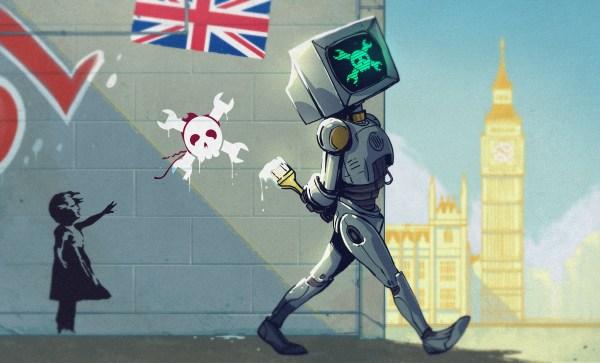 Hackaday UK Unconference Art