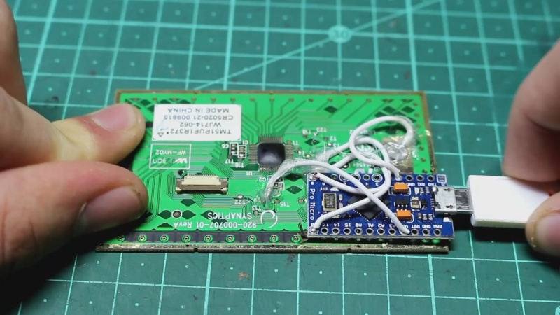 Raspberry Pi Trackpad From Salvaged Trackpad Plus Arduino | Hackaday