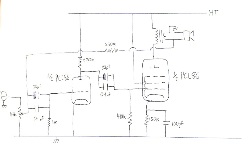 Lovingly hand-drawn from life, missing the PSU components.