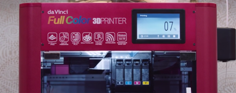 XYZ Printing Unveils Inkjet-Based Filament Printer | Hackaday