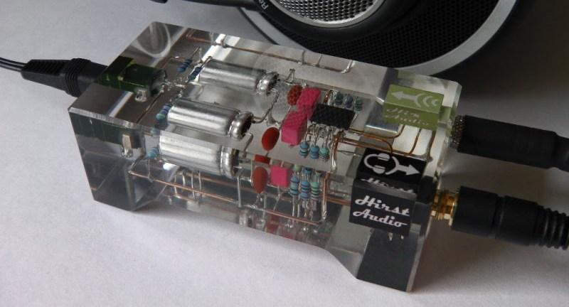 Crystal cMoy headphone amplifier