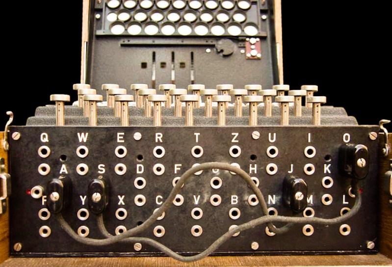 Enigma plugboard