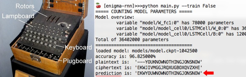 Enigma neural network