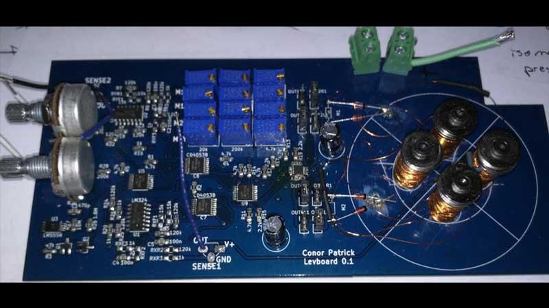 Horizontal Magnetic Levitation Experiments | Hackaday