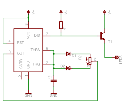 for generating the pulses, the humble 555 is a good choice  the circuit  shows a simple pwm circuit with t1 being the switching element