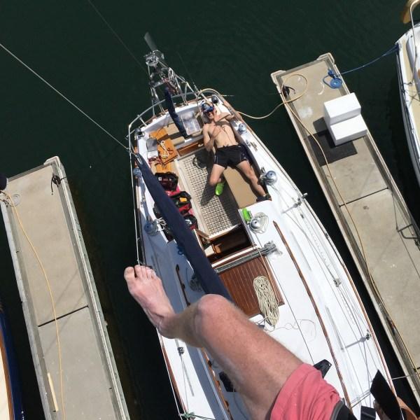 Sailboat Throws Motor Overboard, Adds Sensor Array | Hackaday
