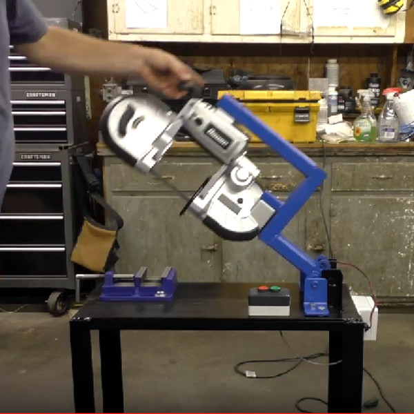 From Handheld Bandsaw To Hackaday