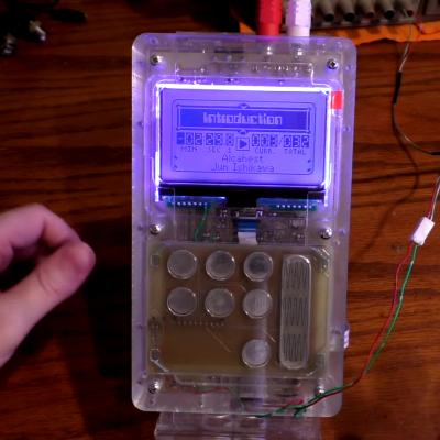 Portable SNES Chiptune Player | Hackaday