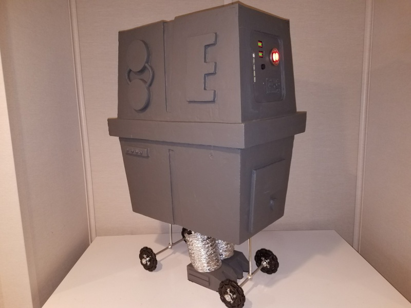 Cronk The Gonk Droid Hackaday