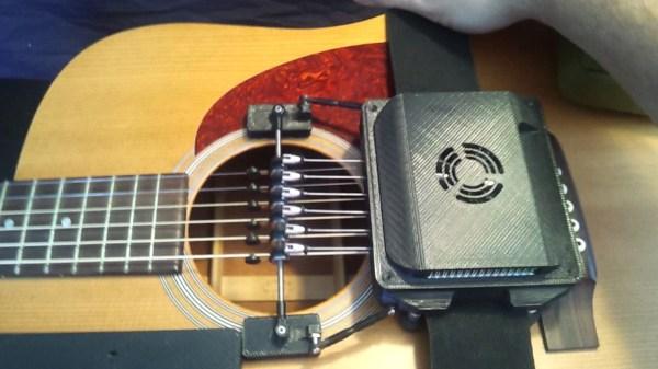 Adaptive guitar: pick board and controller