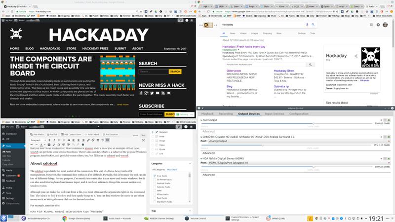 Linux Fu: X Command | Hackaday