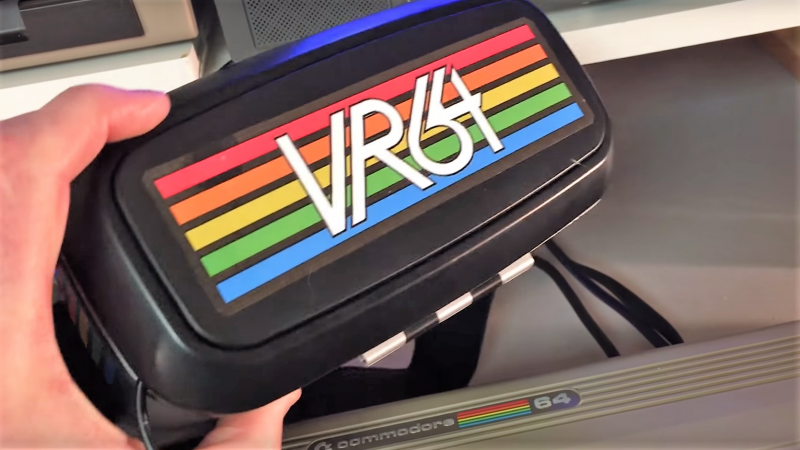 Hacked Headset Brings VR To The Commodore 64 | Hackaday