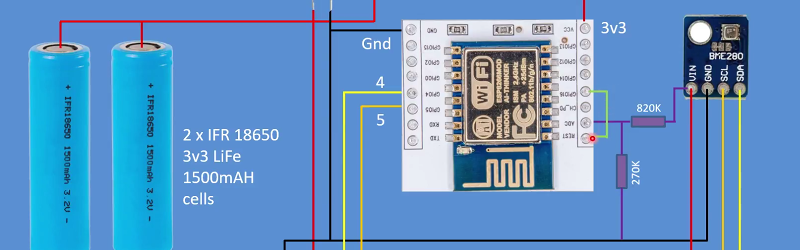 Datalogger Uses ESP32 And ESP8266 Low Power Modes   Hackaday