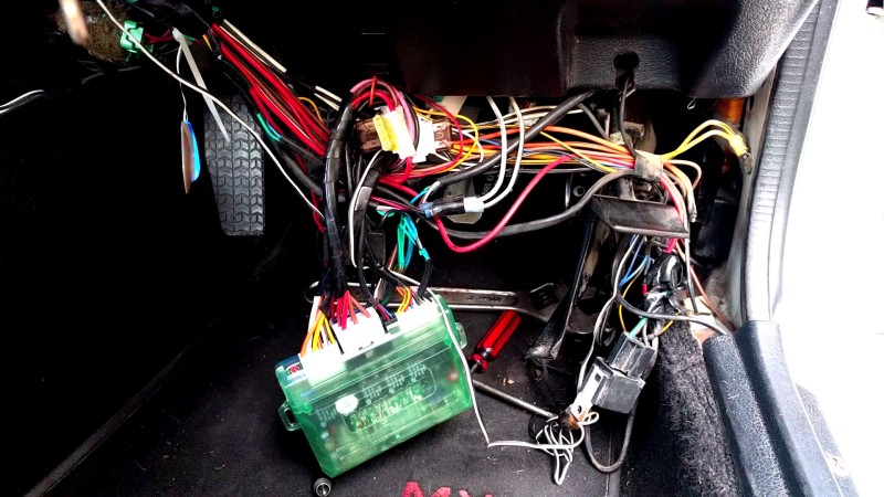 The Bane Of Aftermarket Car Alarms | aday Old Blinking F Wiring Diagram on