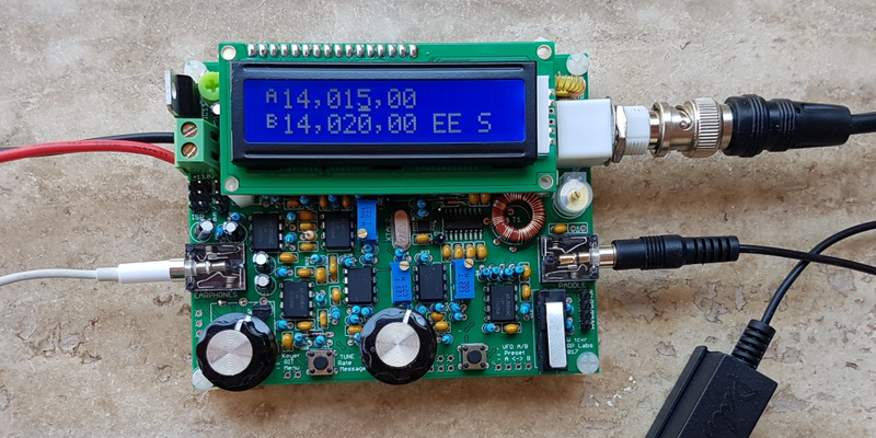 A Fully Featured, Fifty Dollar QRP Radio | Hackaday