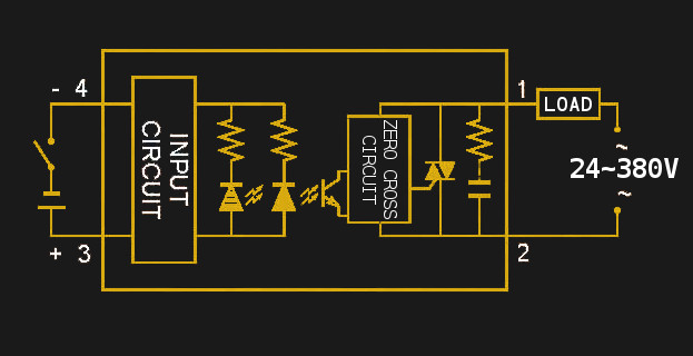an introduction to solid state relays hackaday  fotek ssr 40 wiring diagram #15