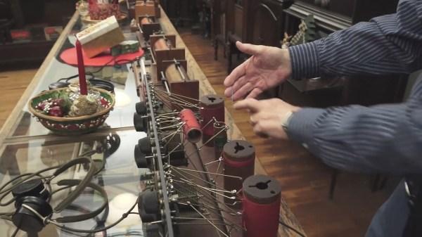 Crystal radios from Jeri Ellsworth's museum tour
