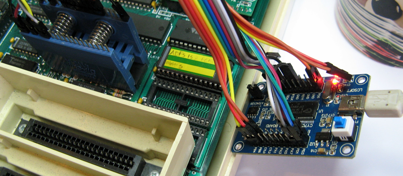 Analyzing The 6502 With Python And Cheap Dev Boards | Hackaday