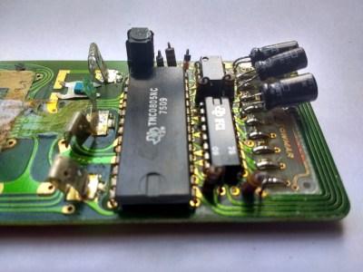 TMS0805 close-up.